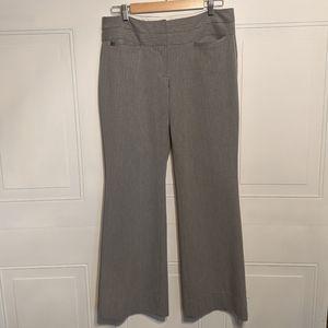 Express Editor pinstripe grey Pants Gray Size 10R